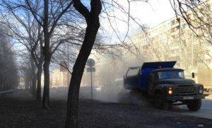 Концентрация пыли в воздухе Петербурга в пределах нормы