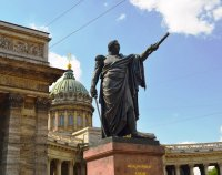 На памятник Кутузову установят новую шпагу