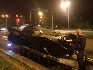 В Петербурге появился бэтмобиль
