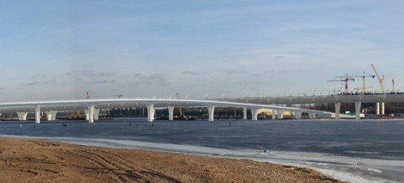 Яхтенный мост откроют ко Дню рождения Петербурга